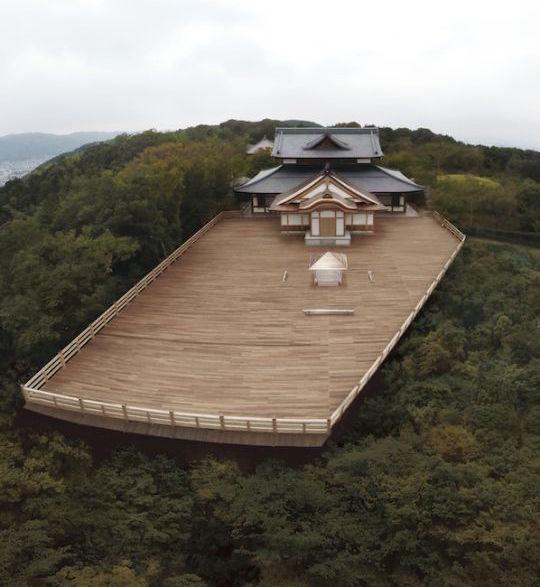 tokujin yoshioka kou-an temple kyoto seiryuden shonen-in glass tea house transparent
