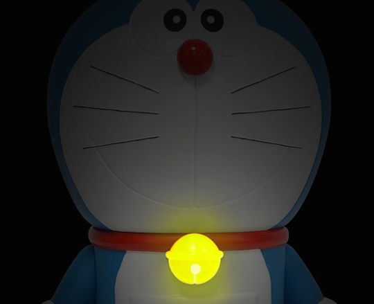 doraemon giant speaker audio toy flashing cat bell