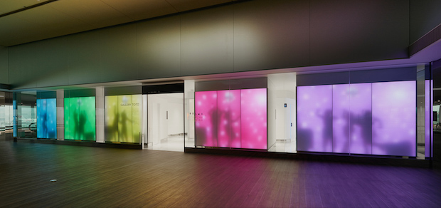 gallery toto narita airport toilet showroom dytham klein