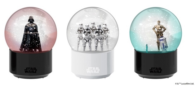 star wars snow globe amadana imp interactive bluetooth