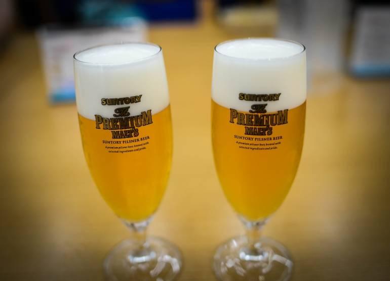 suntory beer musashino brewery fuchu tokyo visit tour