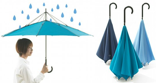unbrella umbrella upside down