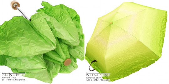 vegetabrella lettuce umbrella salad japanese