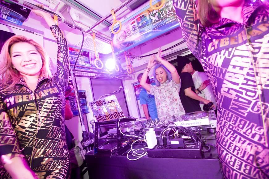seibu ageha train nightclub music edm club event tokyo japan dj dance
