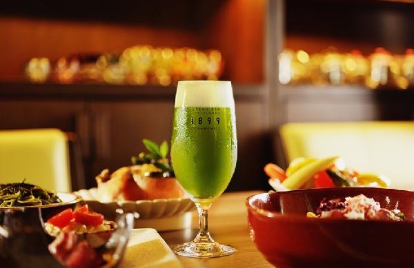 matcha beer green tea tokyo garden ochanomizu maccha