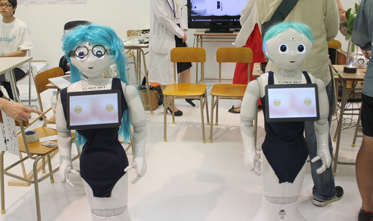 peppai pepper robot breasts touch