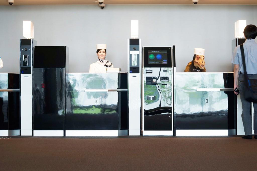 henn na hotel weird strange nagasaki sasebo japan robots dinosaur