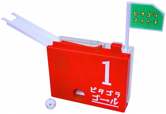 pythagoraswitch goal machine toy nhk tv rube goldberg device