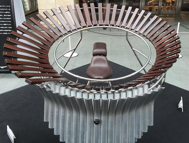 yamaha concept musical instruments prototype design motorbike mobility wheelchair futuristic marimba fujin