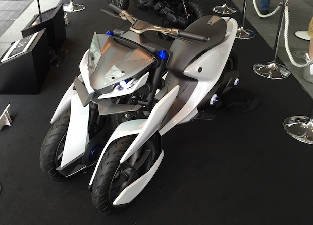 yamaha concept musical instruments prototype design motorbike mobility wheelchair futuristic