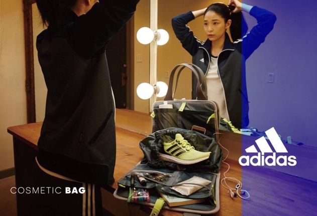 adidas women sports cosmetic bag