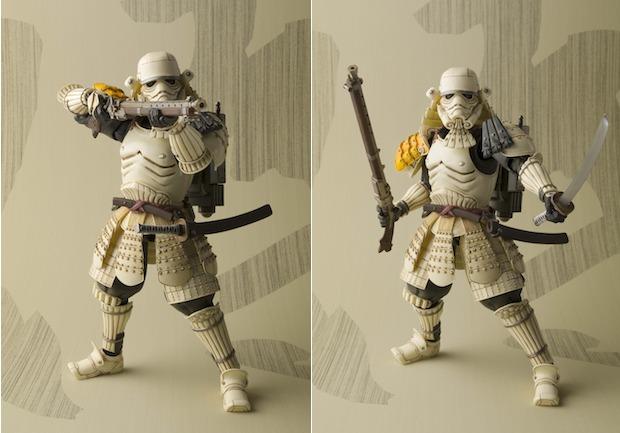 bandai figure toy star wars sandtrooper ashigaru sengoku warring states period samurai