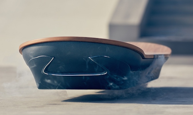 lexus slide hoverboard flying skateboard marty mcfly back to the future