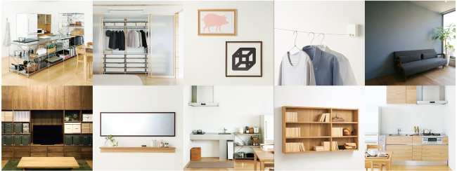 muji yurakucho atelier bow-wow store design books bookcase shelves