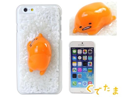 gudetama egg lazy sanrio character phone cover merchandise