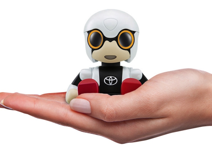 kirobo mini toyota robot