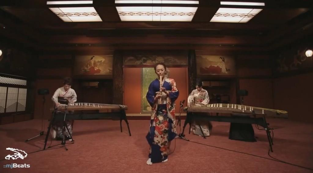 shakuhachi koto japanese-cover michael jackson japanese smooth criminal