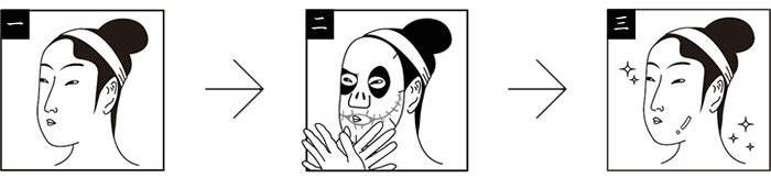The Nightmare Before Christmas Face Pack tim burton japanese face pack