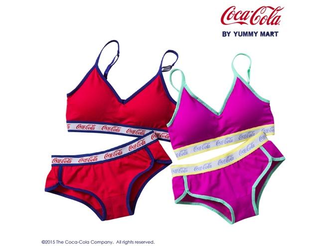 yummy mart coca-cola clothing pajama underwear socks clothes risa nakamura ikeda elaiza monica sahara