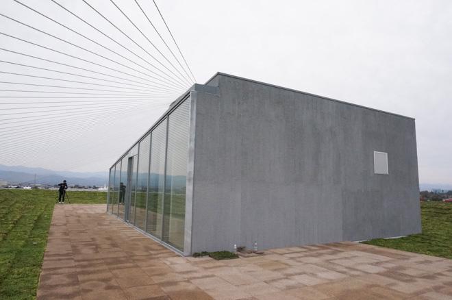 kengo kuma komatsu seiren fabo ishikawa nomi city carbon fiber seismic carbon fibers earthquake resistant design