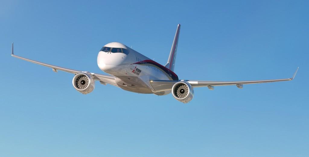 mitsubishi regional jet airliner plane launch maiden flight
