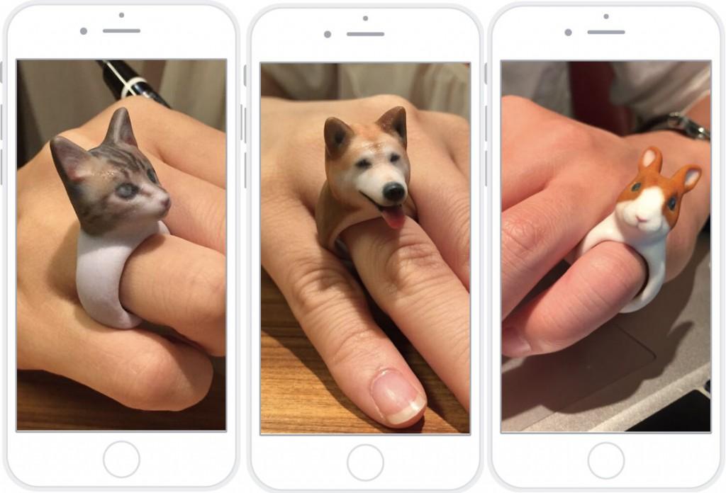 ringpet japanese pet ring 3d printed
