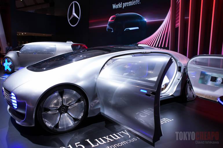 tokyo motor show 2015 Mercedes-Benz F015 Luxury in Motion