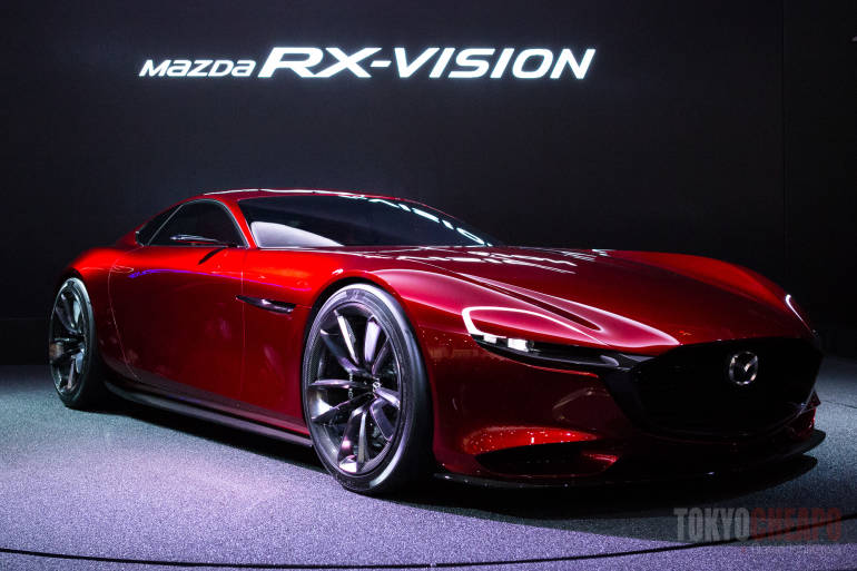 tokyo motor show 2015 nissan rx-vision