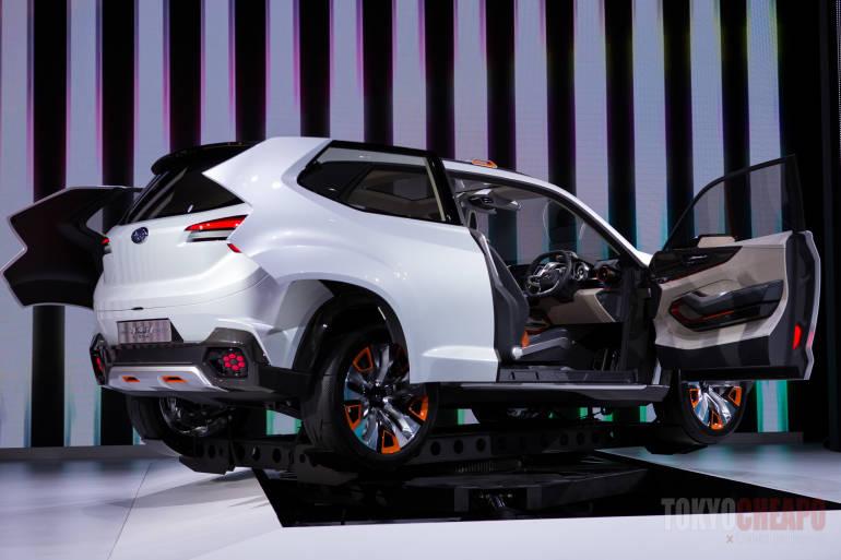 tokyo motor show 2015 subaru viziv future concept