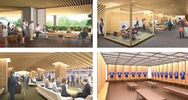 kengo kuma new national stadium 2020 olympics tokyo games design winner