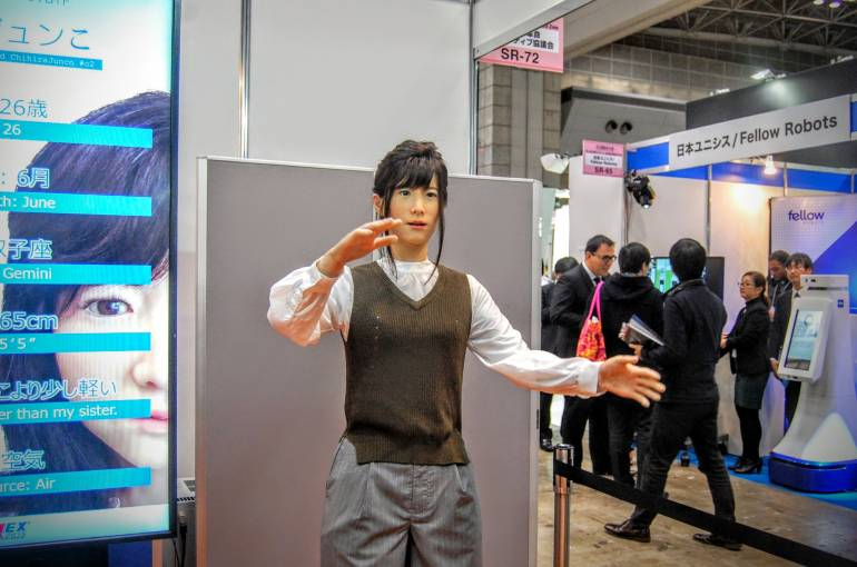 tokyo international robot exhibition 2015 technology irex