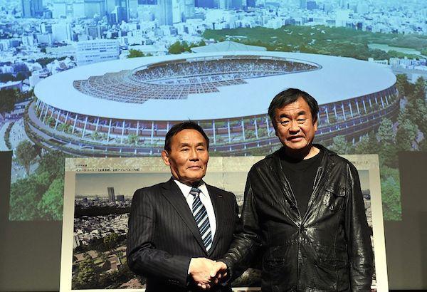 kengo kuma olympic stadium