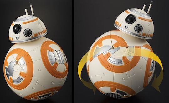 star wars the force awakens bb-8 droid rubiks cube 3d puzzle