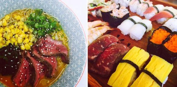 tbs tv television japan bukkomi maki and ramen sushi bar edinburgh scotland fake whisky