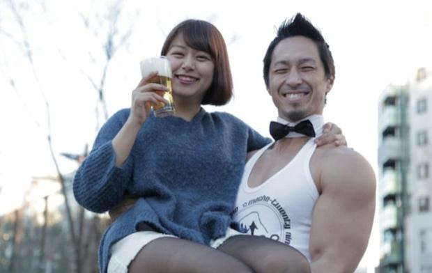 macho craft beer bar muscle event harajuku tokyo
