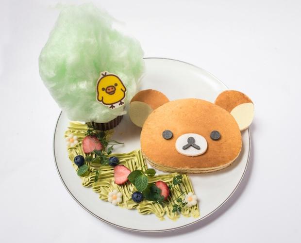 rilakkuma harajuku cafe tokyo japan cute kawaii character food