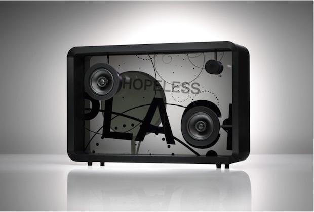 lyric speaker internet of things display song words