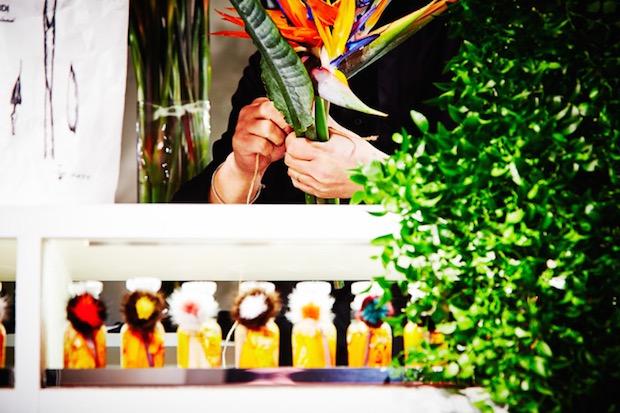 makoto azuma scooter flower shop ginza fendi tokyo