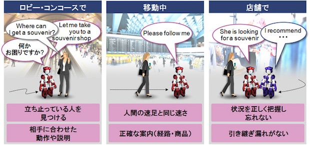 hitachi emiew3 robot cute humanoid customer service