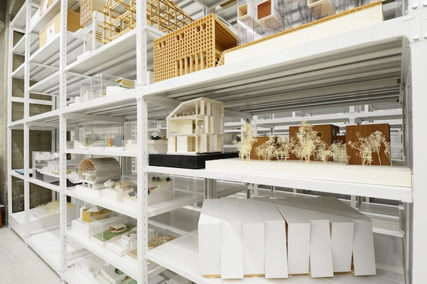 archi depo terrada warehouse tokyo japan architecture model museum