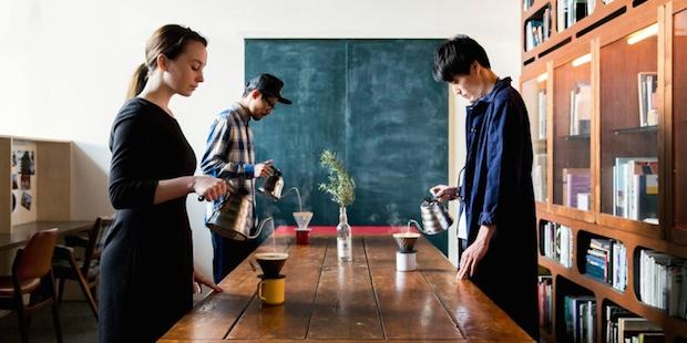 minedrip self-drip coffee shop tokyo shinjuku newoman lumiere