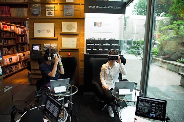 mercedes-benz t-site daikanyama tsutaya virtual reality car showroom tokyo