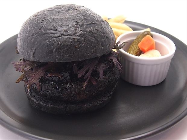 studio ghibli anime exhibition roppongi hills tokyo cafe themed menu burger bread laputa