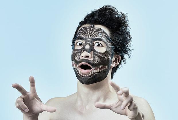 godzilla face pack skin care mask