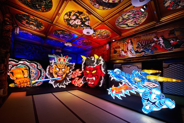 maguro gajoen 2016 art illumination light exhibition event