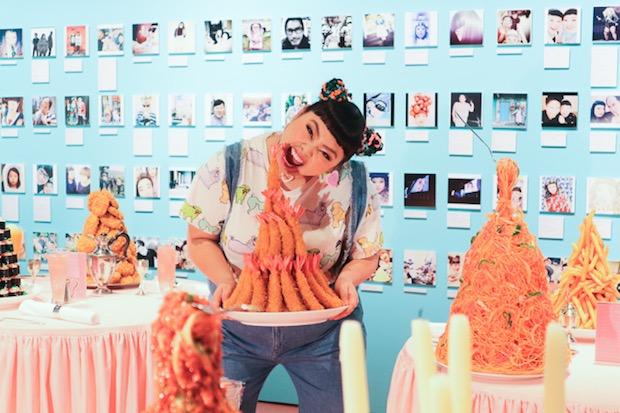 naomi watanabe japanese comedian pocchari exhibition laforet harajuku tokyo