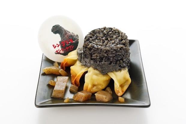 shin godzilla kaiju cafe tokyo ikebukuro food
