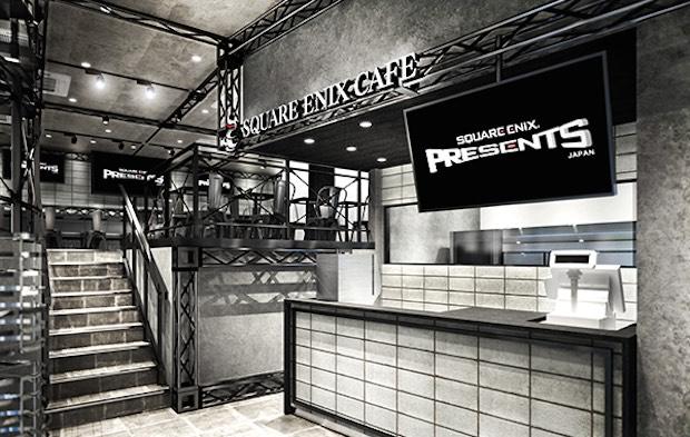 square enix final fantasy video game cafe tokyo akihabara