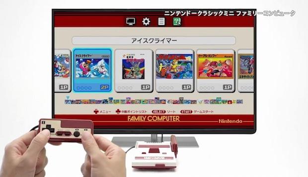 famicom nintendo nes entertainment system video game console mini classic japanese version