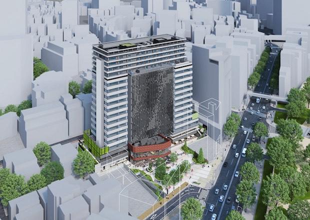 shibuya cast tower redevelopment skyscraper tokyo